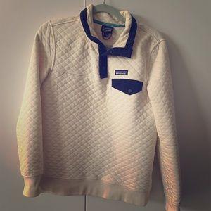Patagonia Organic Cotton  Quilt Pullover